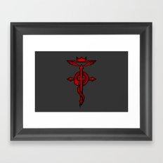 Fullmetal Alchemist Flamel Framed Art Print