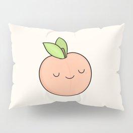Happy Peach Pillow Sham