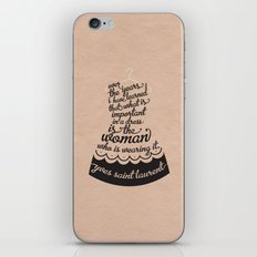 Little Black Dress iPhone & iPod Skin