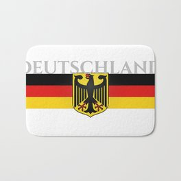 Deutschland ...German Flag and Eagle Bath Mat