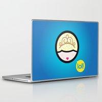 marie antoinette Laptop & iPad Skins featuring Marie Antoinette by Cosmololitas
