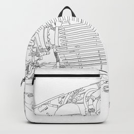 bonney drawing Backpack