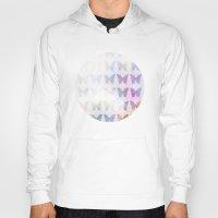 tie dye Hoodies featuring Tie Dye Butterflies by C Designz