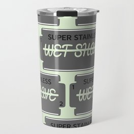 Wet Shave Razor Blade Travel Mug