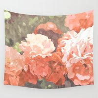blossom Wall Tapestries featuring Blossom by 83 Oranges™