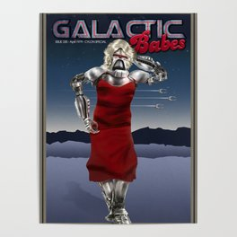 Galactic Cover Girl Poster