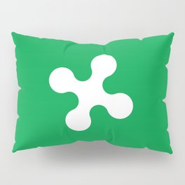 flag of lombardy Pillow Sham
