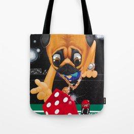 Pugsy the Playa Tote Bag