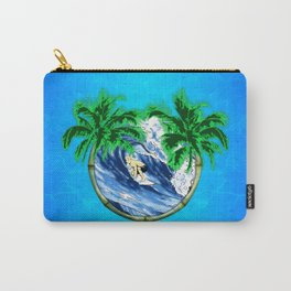 Tropical Surfer Carry-All Pouch