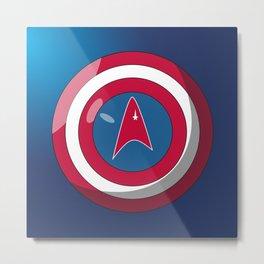 Captain, Federation Metal Print