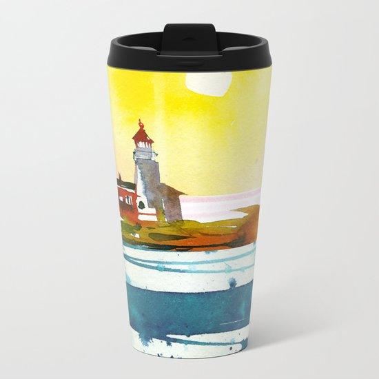 Seascape #6 Metal Travel Mug
