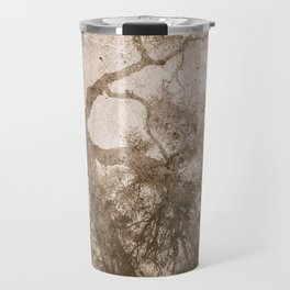Vintage delicate tree pattern Travel Mug
