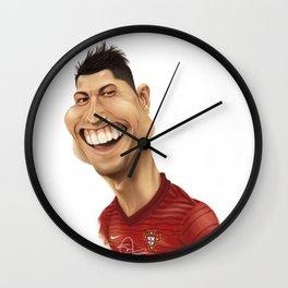 C. Ronaldo - Portugal Wall Clock