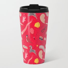 Royal Pattern Travel Mug
