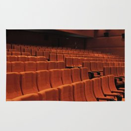 Cinema theater stage seats Rug