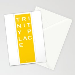 Trinity Place - NYC - Yellow Stationery Cards