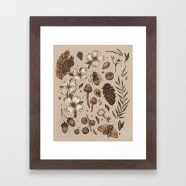 Nature Walks (Light Background) Framed Art Print