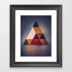 7try Framed Art Print