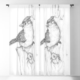 Artistic Drawing - The Builder Blackout Curtain