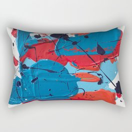 Miniature Original - Pollock Rectangular Pillow