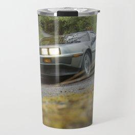 DELOREAN IN BELFAST Travel Mug