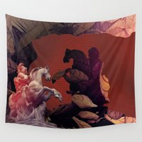 heroes Wall Tapestries featuring Heroes by infloence