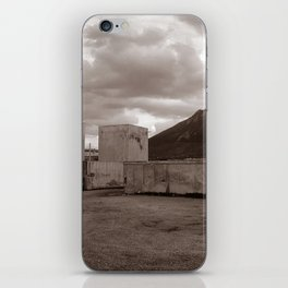 Abandoned Zone of Industry - Sicily - vacancy zine iPhone Skin