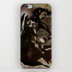 sexy woman iPhone & iPod Skin
