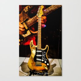 Stevie Ray Vaughan - #1 Guitar Canvas Print
