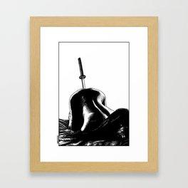 asc 485 - La fleur tranchée (As sharp as a razor) Framed Art Print