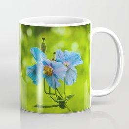 Blue Poppies Coffee Mug