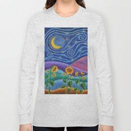 Dream Fields Long Sleeve T-shirt