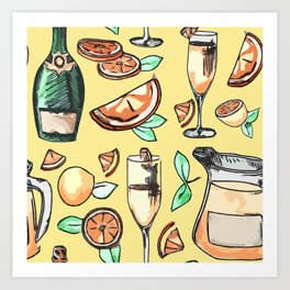 Bottomless Mimosas Art Print