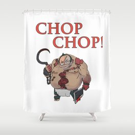 Chop Chop! Dota2 Pudge (Defense of the Ancients) Shower Curtain