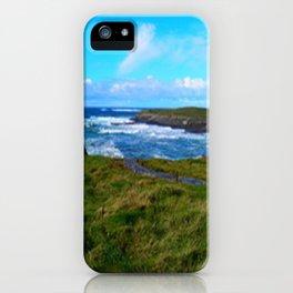 Photo, Spanish Point, Ireland iPhone Case