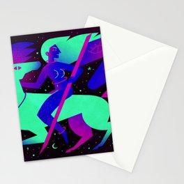 Die Erste Nachte Reiterin Stationery Cards