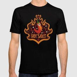 Skull Hot Sauce pepper T-shirt
