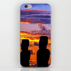 TOUCHED BY FIRE iPhone & iPod Skin