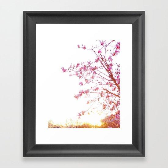 Sun-Drenched Framed Art Print