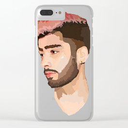 Zayn Graphic Clear iPhone Case