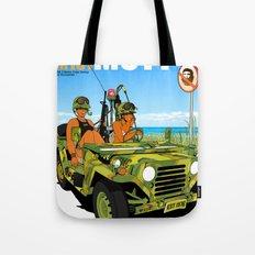 Marine Corps Honeys - Camo Edition Tote Bag