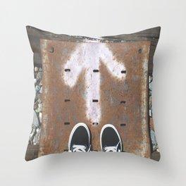 Van Forward Throw Pillow