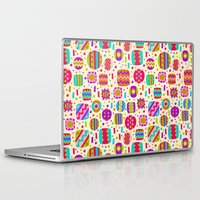 carnival Laptop & iPad Skins featuring Carnival by Valendji
