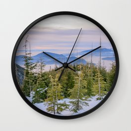 Bowen Island Lookout Wall Clock