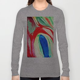 Abstract Lily Long Sleeve T-shirt