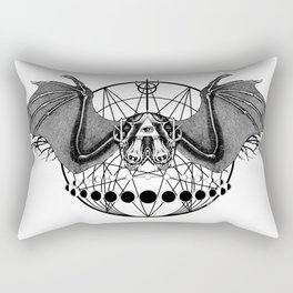 Occult Bat Rectangular Pillow