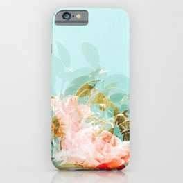 Breathe Flower iPhone Case