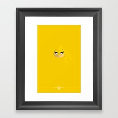 Iron Fist Framed Art Print