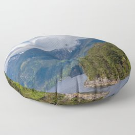 Land and Water Floor Pillow