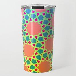 Arabesque gradient Travel Mug